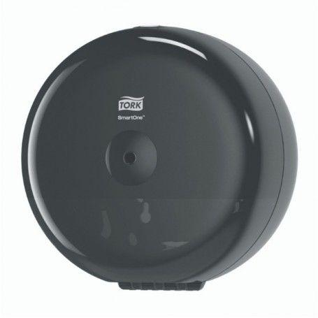 DISPENSADOR PAPEL WC SMART-ONE NEGRO T8
