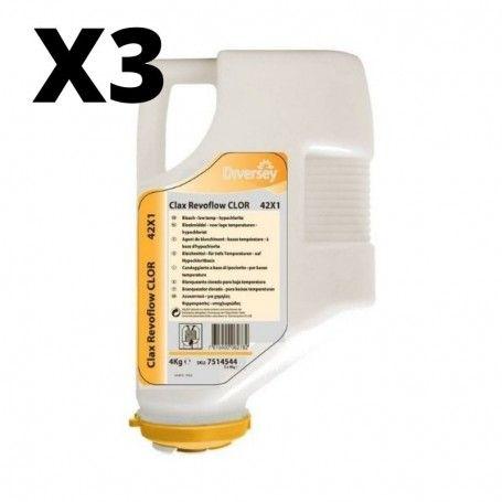CLAX REVOFLOW CLOR 4XP1 4KG 3 UNIDADES