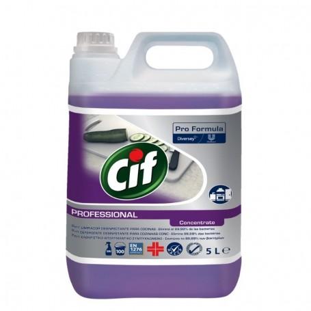 CIF PROFESIONAL DESINFECTANTE COCINA 2 EN 1 5L 2 UNIDADES